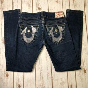 True Religion skinny jeans Flap Pocket 26x28